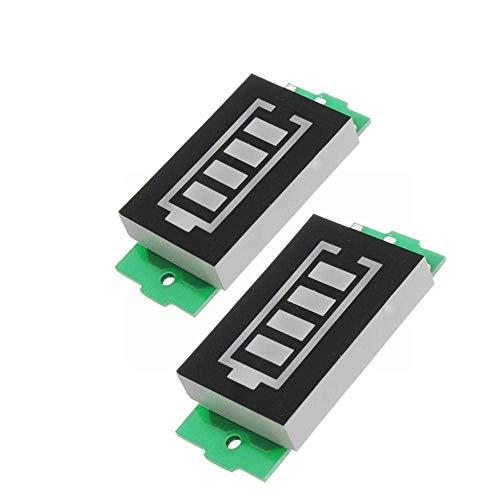 Busirsiz 3S Litio energía de la batería Tarjeta de indicación Paquete del vehículo Energía Eléctrica Indicador de batería 4V / 8V / 12V / 16V de Almacenamiento de energía módulo de medición