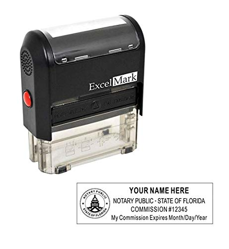 ExcelMark Self Inking Notary Stamp - Florida