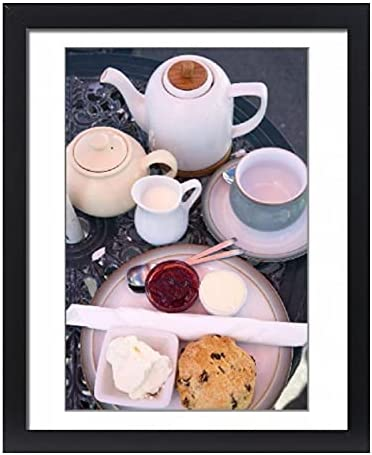 robertharding Baltimore Mall Sale special price Framed 20x16 Print of Cream by The at Tea T Castle