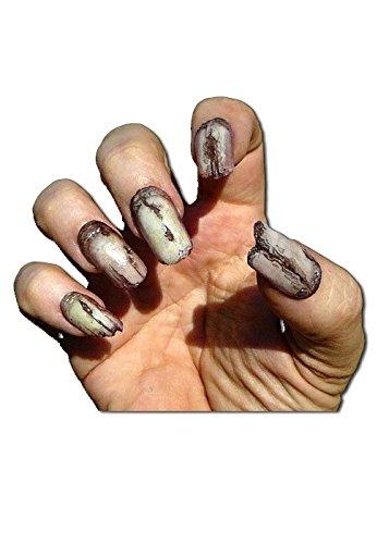 Klauen Fingernägel Creepy Claws Undead Zombie LARP Cosplay Fasching Halloween