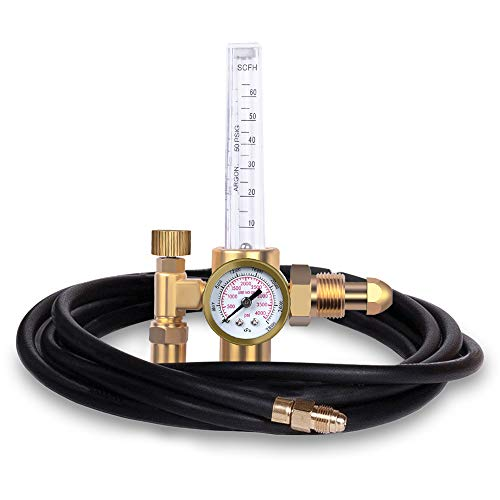 ZISS CO2 Argon Regulator with Gas Hose TIG Welder