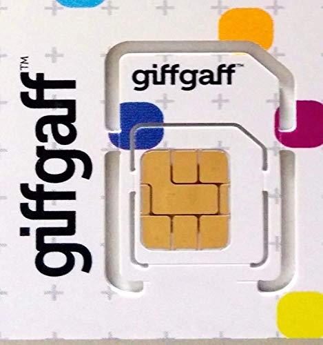 Giffgaff Trio/Multi-SIM kaarten (bonus tegoed wanneer je opladen) - Onbeperkt oproepen, teksten en data. Geschikt voor alle apparaten