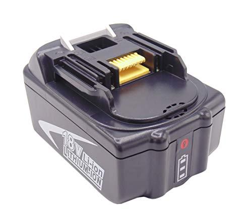 CYDZ 18V 5000mah batería de herramientas BL1850B BL1840B BL1830 para Makita DTR180ZJ DTD153Z DHR171Z DDF483Z DDF481RTJ DGA511Z DTP141RTJ DSS610RTJ DHP485Z DTW1002RTJ con LED