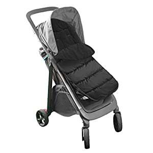 Saco de dormir para cochecito de bebé de invierno 3 en 1, saco universal cortavientos cojín para silla de bebé, niñas, manta cálida para asiento de bebé, asiento de coche cochecito o cama de bebé