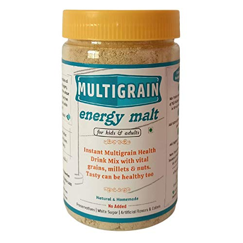 The Great Banyan Multigrain Energy Malt - Homemade Health Drink for Kids & Adults (300g)