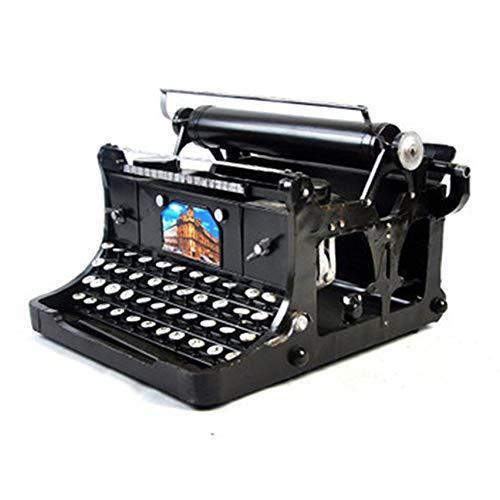 Maniny Retro Schreibmaschine Vintage Schreibmaschinenmodell Requisiten für die Fensteranzeige Weinleseverzierung