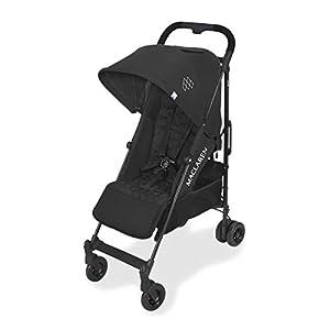 Maclaren Quest Arc silla de paseo tipo paraguas compacto y ligero, Para niños de recién nacidos hasta 25 kg, capota extensible con factor UPF 50+, asiento reclinable, Incluye protector para la lluvia