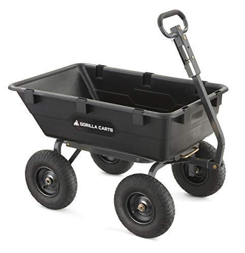 Gorilla brand dump cart