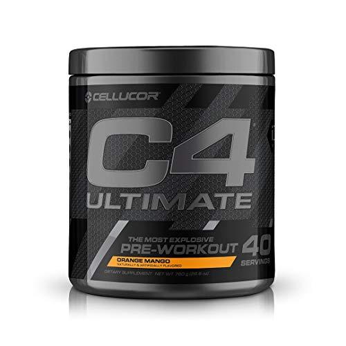 Cellucor C4 Ultimate Pre-Workput Booster Trainingsbooster Bodybuilding 880g (Orange Mango)