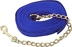 poly lunge line with brass lead