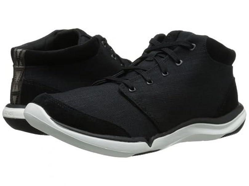うがい薄い迷惑Teva(テバ) レディース 女性用 シューズ 靴 スニーカー 運動靴 Wander Chukka - Black 1 [並行輸入品]