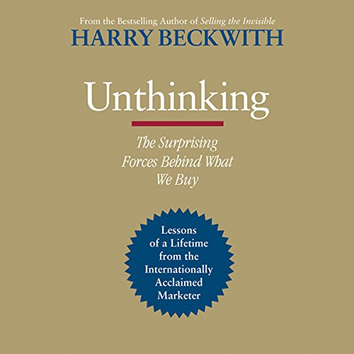 Unthinking audiobook cover art