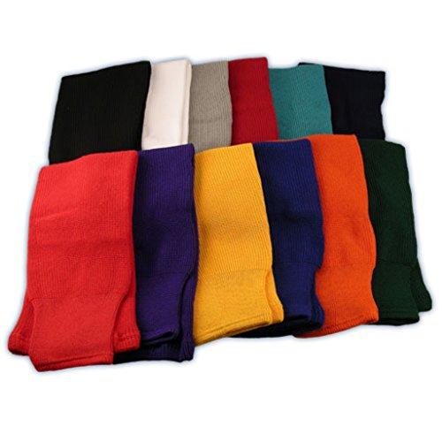 CCM S100 Hockeysocken, einfarbig, für Kinder, Dunkelgrün