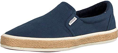 GANT Footwear Herren Fresno Slip On Sneaker, Blau (Marine G69), 44 EU