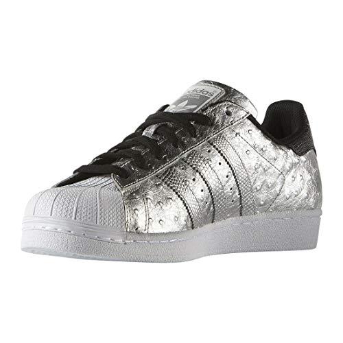 Adidas Originals Superstar Calzado Casual Deportivo para Hombre (45 1/3 EU, Silver)