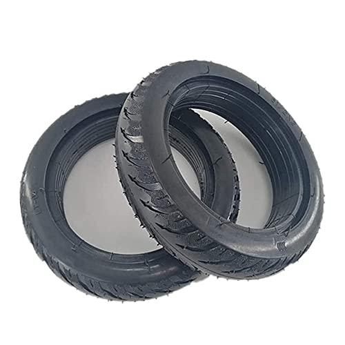 Neumático de scooter eléctrico, 8,5 pulgadas 8 1 / 2x2 neumático sólido a prueba de explosiones, resistente al desgaste antideslizante y sin mantenimiento, adecuado para M365 eléctrico Neumáticos de s