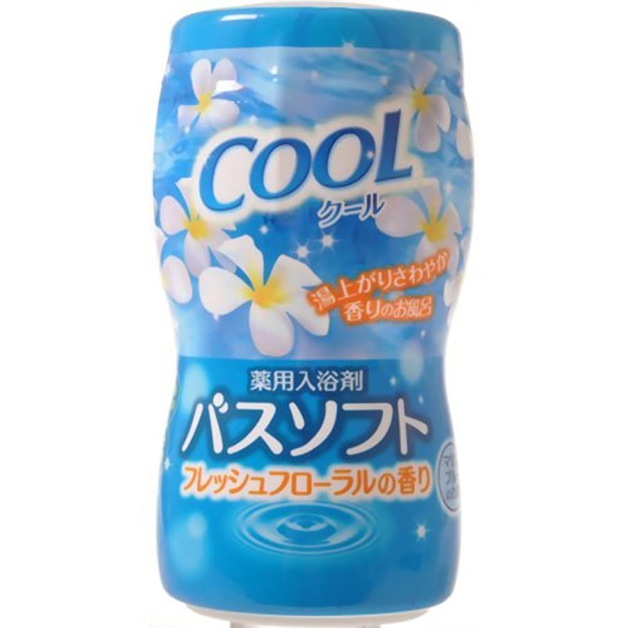 作成する抽選ツーリスト【オカモト】薬用入浴剤バスソフト クール 700g