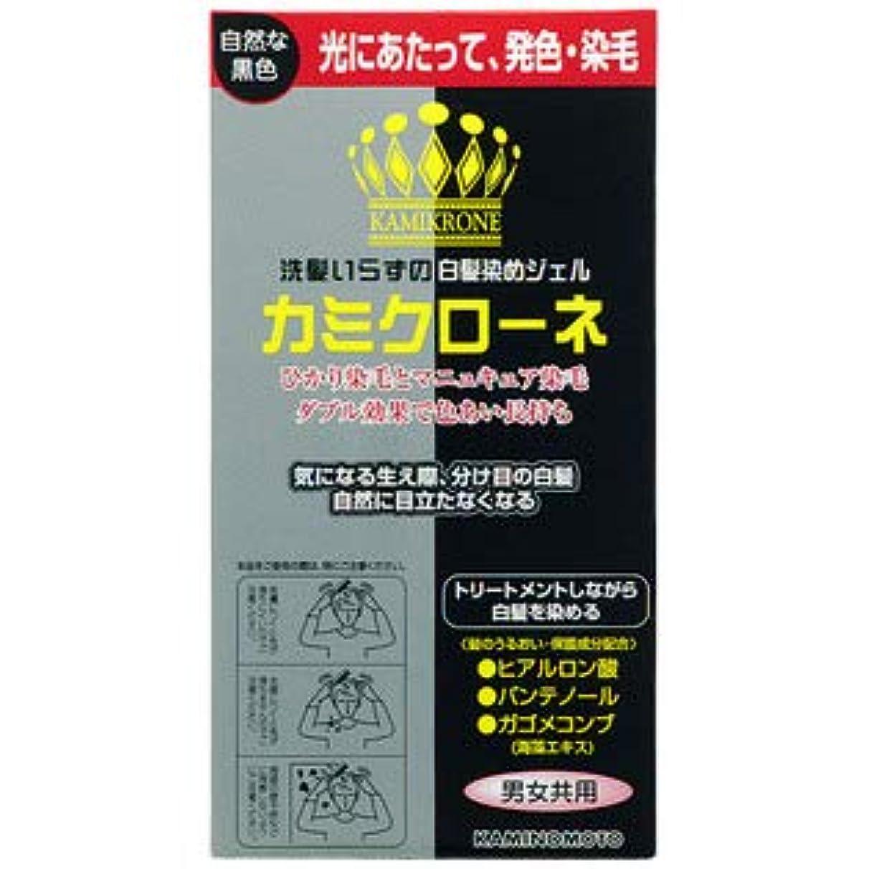 請う混合キャップ【3個】 加美乃素 カミクローネ 自然な黒色 80mlx3個 (4987046820013)