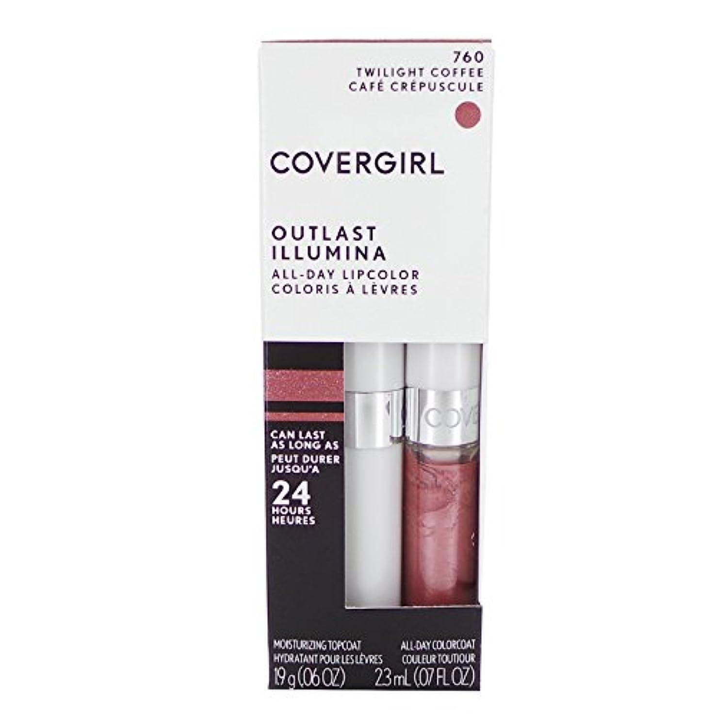 競争窓のスコア(3 Pack) COVERGIRL Outlast All-Day Lip Color - Twilight Coffee 760 (並行輸入品)