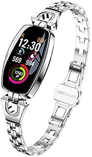 Monitor de fitness de pantalla de color, HRV, SpO2, ritmo cardíaco, oxígeno en sangre, rastreador de sueño para smartphones iOS/Android