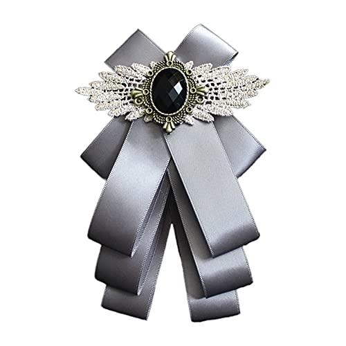 Pajarita de seda para hombre, de lujo, decoración de cristal, para boda, kit de fabricación de pulseras para niñas de 7 años
