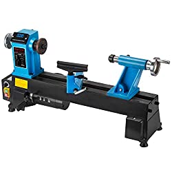 Mophorn 10 x 18 Inch Wood Lathe Bench Top Heavy Duty Wood Lathe