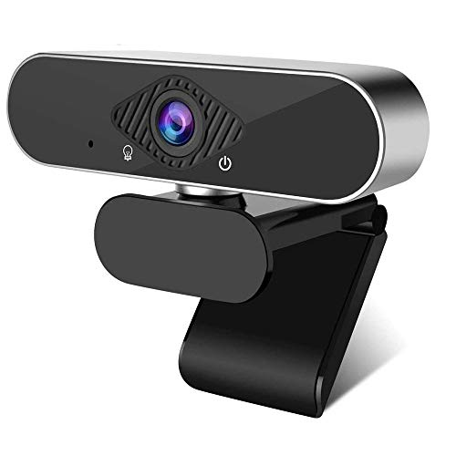 CHENALIFE HD 1080p Webcam Built-in Microphone USB Webcam Desktop Or Laptop for Home Office Widescreen Full HD Computer Camera for Video Calling and Recording