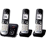 Panasonic KX-TG6823 Anrufbeantworter-Display [englische Version]