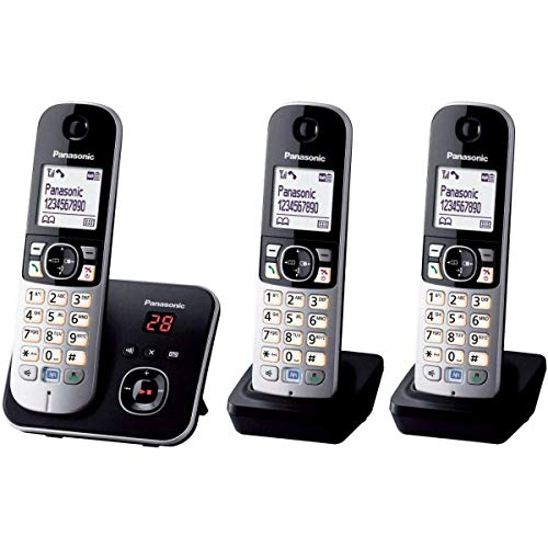 Panasonic KX-TG6823 Téléphones sans Fil Répondeur Ecran [Version Française]