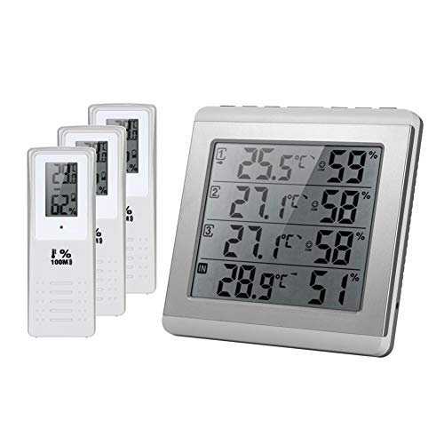 Inalámbrico Digital LCD For Interiores/Exteriores