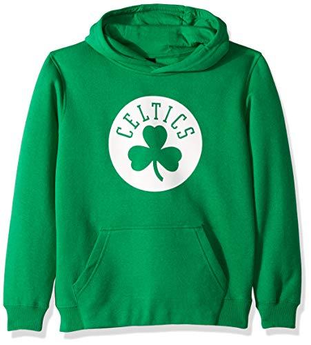 NBA Boston Celtics Boys Outerstuff 'Primary Logo' Classic Hoodie, Team Color, Youth Medium (10-12)