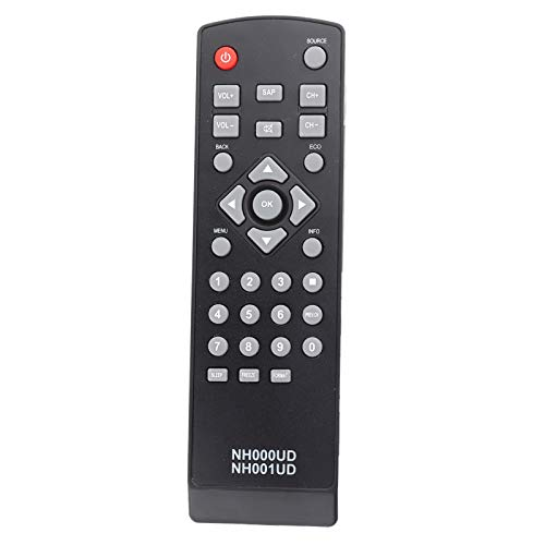 PUSOKEI Control Remoto de TV Universal, reemplazo del Control Remoto de televisión NH000UD para Emerson, transmisión de Distancia de 10 m