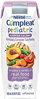 Compleat Pediatric Reduced Calorie 8.45 oz. Carton Ready to Use Unflavored Ages 1-13 Years, 10043900380749 - Each
