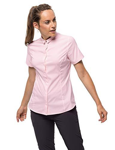 Jack Wolfskin Damen JWP Shirt Bluse, Pale pink, M