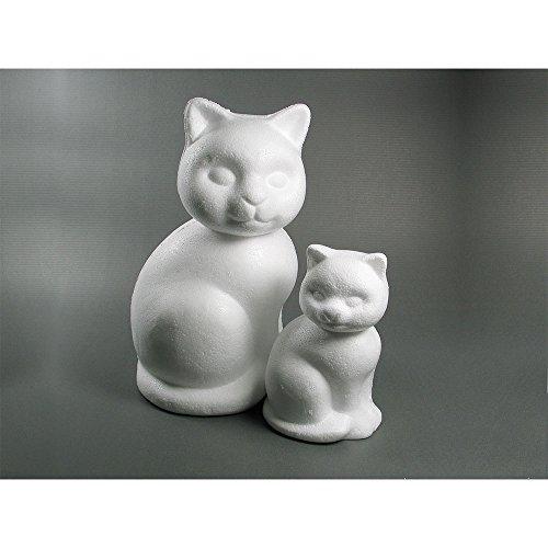 Meyco Styropor Katze sitzend 15cm