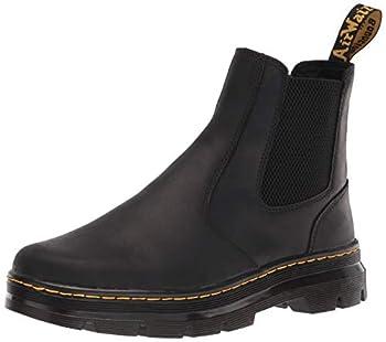 Dr Martens unisex adult Chelsea Boot Black Wyoming 8 Women 7 Men US