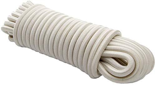 Expanderseil 6 mm 20 m-blanc-tendeur caoutchouc planenseil elast. cordage bâche