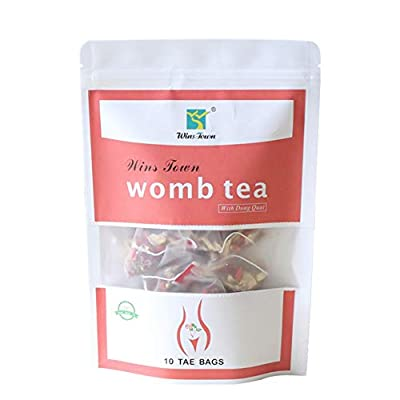 10 Tea Bags Herbal Tea 100 % Natural Womb Tea for Woman Supports The Female System For Girl Female with Cold Hands and Feet, Uterine Cold by Teentop