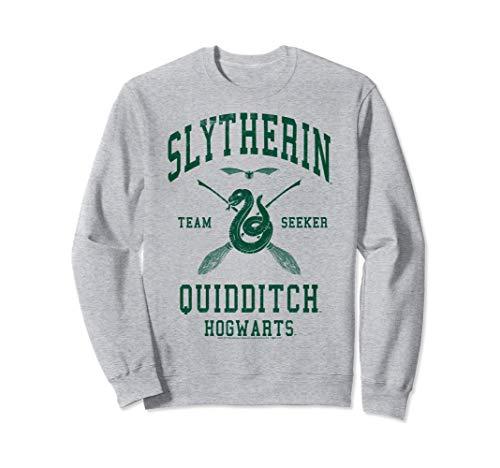 Deathly Hallows 2 Slytherin Quidditch Team Seeker Jersey Sweatshirt