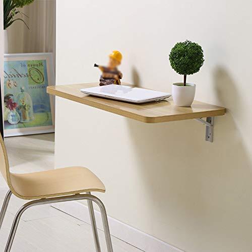 Home&Selected Wandmontage, eettafel, voor laptop, tafel, eettafel, kindertafel, wandtafel, wc-bril (kleur: D, afmetingen: 80 x 40 cm) 100*40CM C