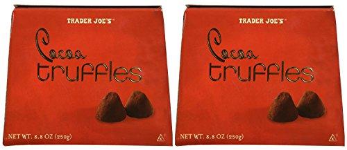 Trader Joe's Cocoa Truffles 8.8oz (Pack of 2)