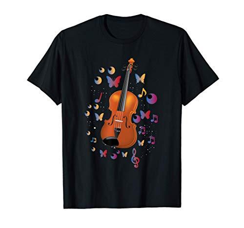 Gran Regalo De Violín Niña Música Clásica Camiseta