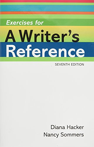 Exercises for A Writer's Reference Compact Format