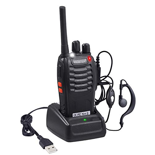 Walkies Talkies Recargable 16 Canales Walky Talky Profesional VOX 3 km Distancia...