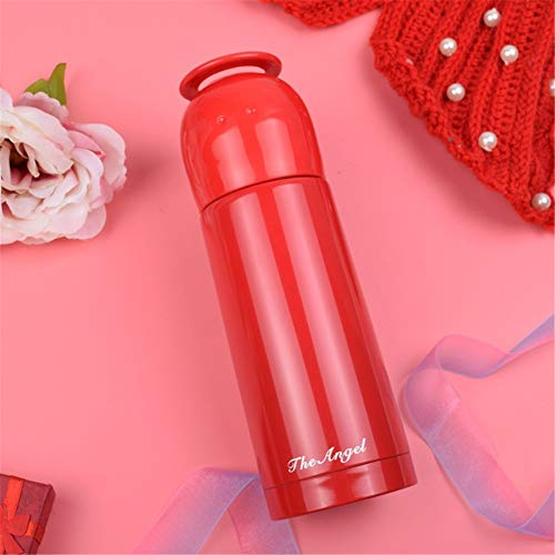 CZPF-ultimative Isolierung, Doppel-Edelstahl-Thermoskanne Mode Becher Student Cup koreanische Version der Tasse tragbare Persönlichkeit