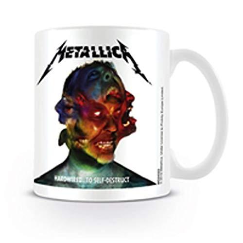 Metallica Kaffeetassen, Keramik, Mehrfarbig, 7.9 x 11 x 9.3 cm