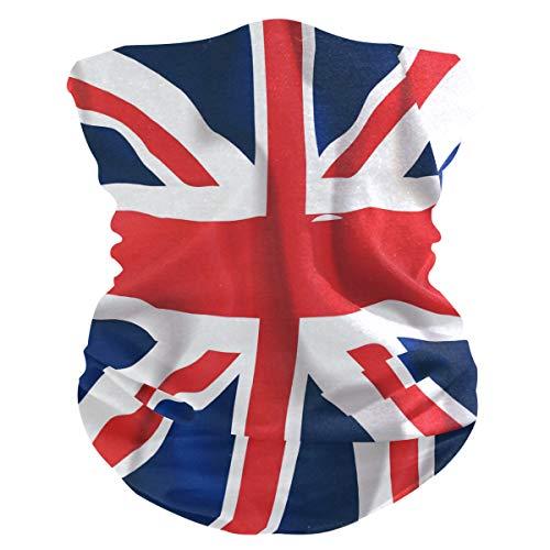 MAHU Headband UK British Flag Pattern Face UV Sun Protection Mask Neck Gaiter Magic Scarf Bandana Headwear Balaclava for Women Men