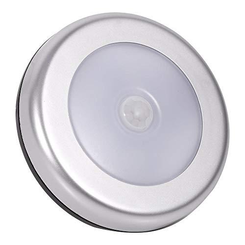 Zyyini Ledsensorlicht, 3 stuks mini-bodysensor-nachtlampje, kan in de gang worden gezet en brandt op als je in de buurt bent van (zonder batterij).