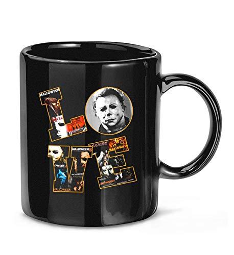 #Michael #Myers Love Halloween Kaffeetasse Teetassen