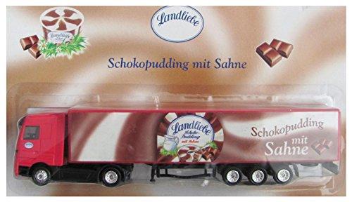 Landliebe Nr. - Schokopudding mit Sahne - MB Actros - Sattelzug